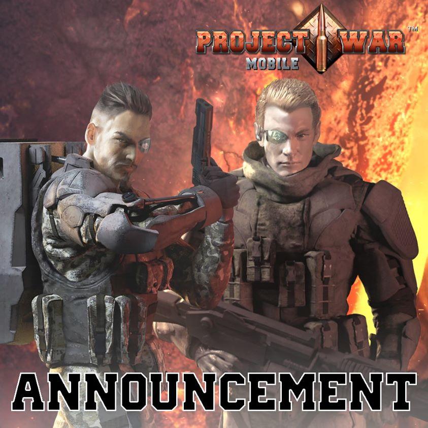 Project War Mobile เปิดให้บริการแล้วตอนนี้