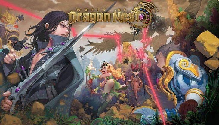 รีวิว World of Dragon Nest เกมมือถือ MMORPG Openworld ตัวใหม่ล่าสุดของซีรีส์ดันมังกร