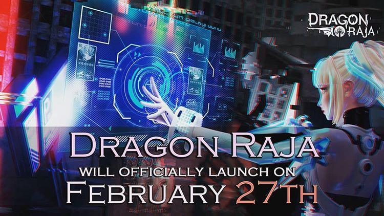 Dragon Raja ประกาศวัน CBT ออกมาแล้ว!!! ใครที่กำลังรออยู่ห้ามพลาด