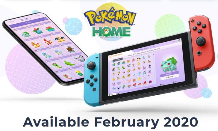 Nintendo เตรียมเปิดตัว Pokémon Home ให้เหล่าสาวก !!!
