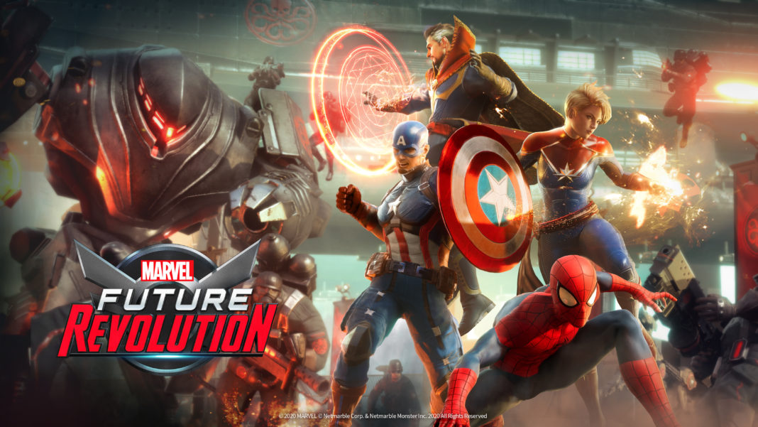 Marvel Future Revolution มาเป็นเกมในรูปแบบ Open World เด็ดมาก