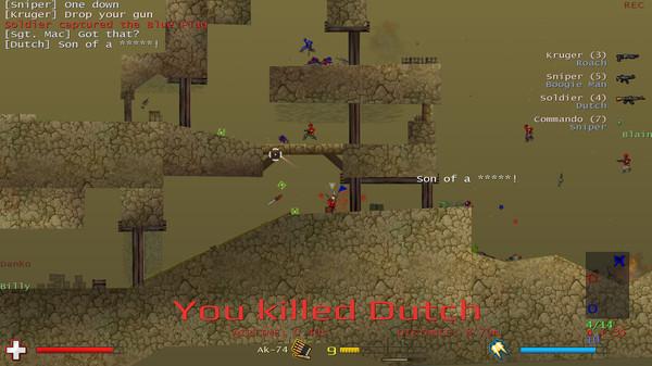 Soldat เปิดให้เล่นฟรีบน Steam แล้วตอนนี้