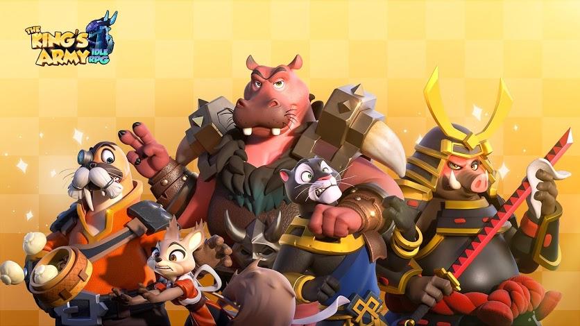 The King's Army เกม Idle ตัวใหม่น่าเล่นนะ